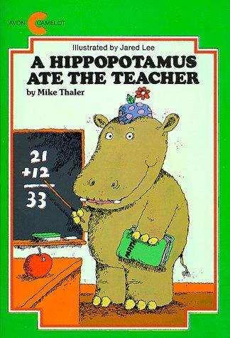 9780380780488: A Hippopotamus Ate the Teacher (Avon Camelot Books)