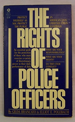 9780380783526: Rights of Police Officers (American Civil Liberties Union Handbook)