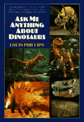 9780380785520: Ask Me Anything About Dinosaurs (An Avon Camelot Book)