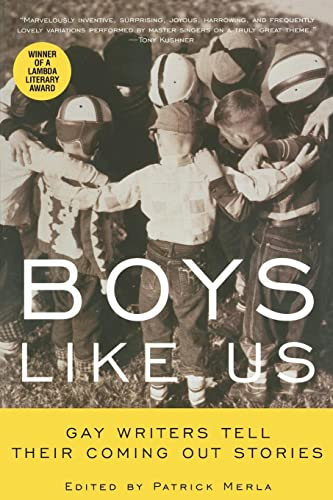 9780380788354: Boys Like Us: Gay Writers Tell Their Coming Out Stories