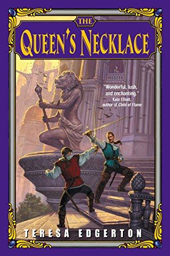 The Queen's Necklace (0380789116) by Teresa Edgerton