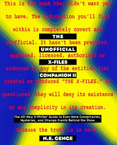 9780380790241: The Unofficial X-Files Companion II (The X-Files)