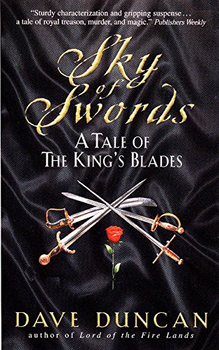 2 book lot: Sky of Swords: A Tale of the King's Blades AND The Gilded Chain:: A Tale of the King'...
