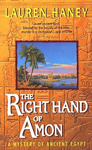 9780380792665: The Right Hand of Amon: A Mystery of Ancient Egypt (Lieutenant Bak)