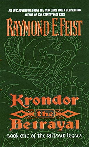 9780380795277: Krondor the Betrayal:: Book One of the Riftwar Legacy