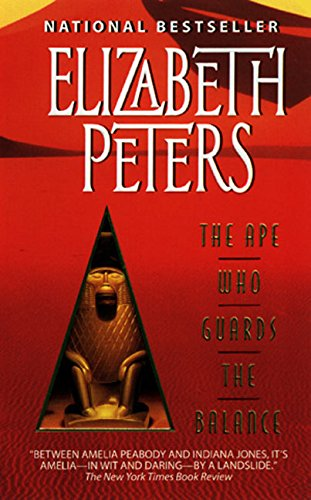 9780380798568: The Ape Who Guards the Balance (Amelia Peabody Mysteries)