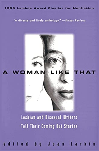 9780380802470: A Woman Like That : Lesbian and Bisexual Writers Tell Their Coming Out Stories