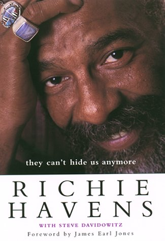 THEY CAN'T HIDE US ANYMORE (Signed Copy): Havens, Richie; with