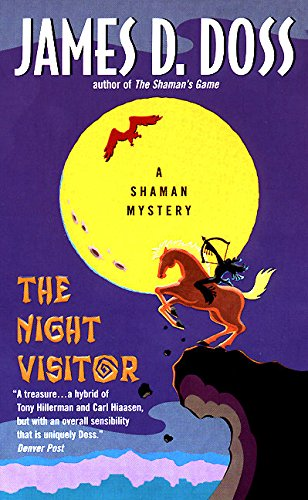 9780380803934: The Night Visitor (Shaman Mysteries)