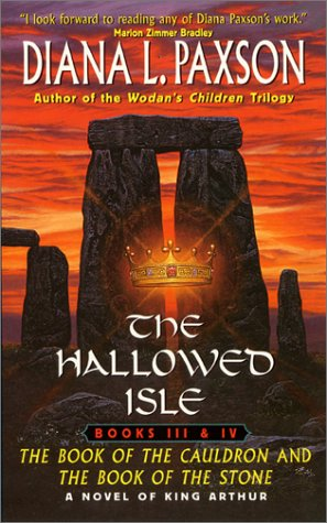 9780380817597: The Hallowed Isle: The Book of the Cauldron and The Book of the Stone (The Hallowed Isle, Books 3 and 4)