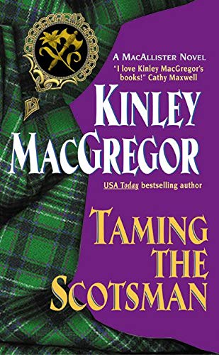 9780380817917: Taming the Scotsman (The MacAllisters)