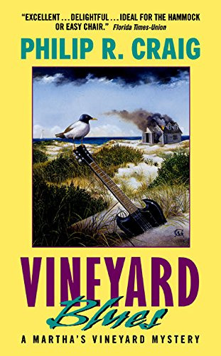 Vineyard Blues: A Martha's Vineyard Mystery (0380818590) by Craig, Philip R.
