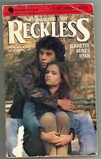 9780380837175: Reckless: A Teenage Love Story (An Avon Flare Book)