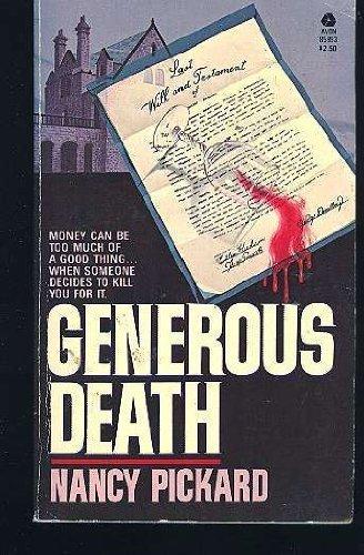 9780380859931: Generous Death