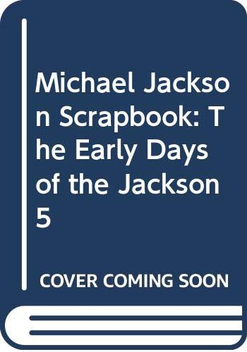 9780380895885: Michael Jackson Scrapbook: The Early Days of the Jackson 5
