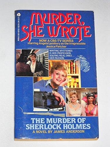 9780380897025: Murder, She Wrote the Murder of Sherlock Holmes