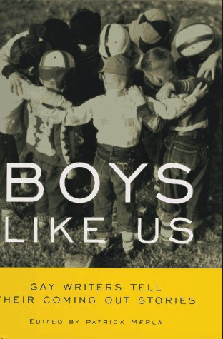 9780380973408: Boys Like Us: Gay Writers Tell Their Coming Out Stories