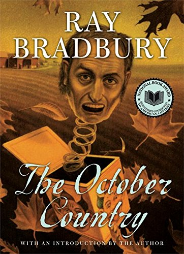 Cover of the book, The October Country.