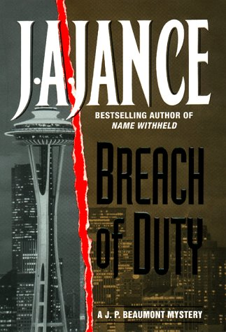 9780380974061: Breach of Duty: A J.P. Beaumont Mystery