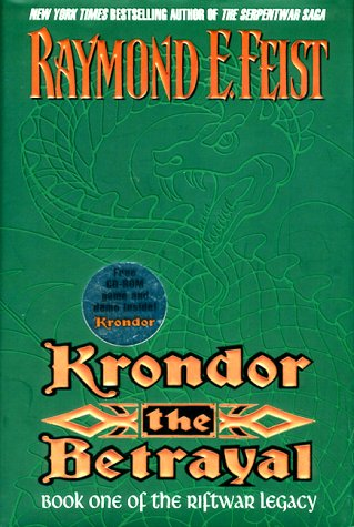 9780380977154: Krondor: the Betrayal (The Riftwar Legacy)