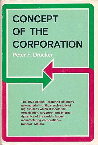9780381980931: Concept of the Corporation