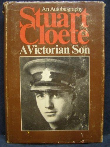 9780381982348: A Victorian son: an autobiography 1897-1922
