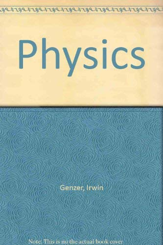 Physics: Genzer, Irwin, Youngner,