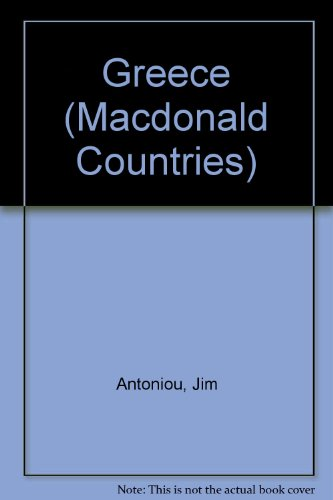 Greece (Macdonald Countries): Antoniou, Jim