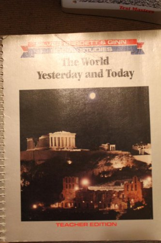 The World : Yesterday and Today (Teacher's: Kenneth S cooper