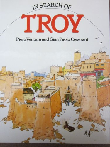 9780382091186: In Search of Troy (In Search of Series)