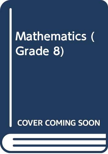 9780382115233: Mathematics (Grade 8)