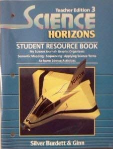9780382172748: Science Horizons (Student Resource Book)