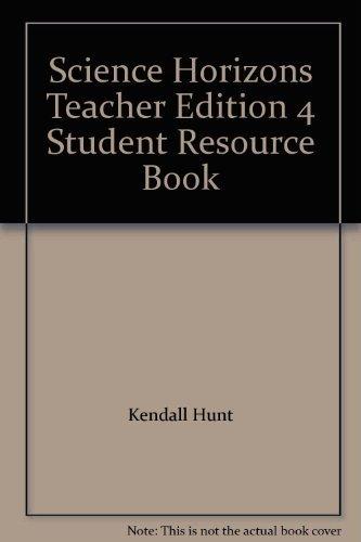 9780382172809: Science Horizons Teacher Edition 4 Student Resource Book