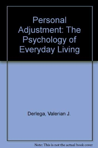 Personal Adjustment : The Psychology of Everyday: Louis H. Janda;
