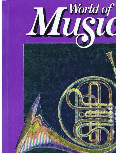 9780382182501: Gr4 Student World Of Music 1991