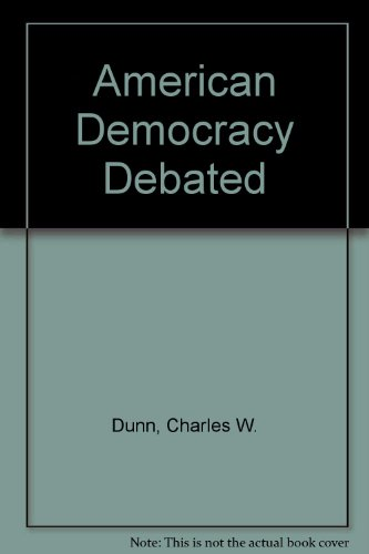 9780382182747: American Democracy Debated