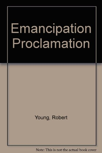 9780382247125: Emancipation Proclamation