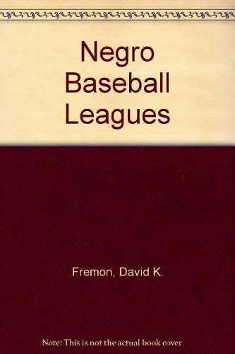 9780382247309: Negro Baseball Leagues
