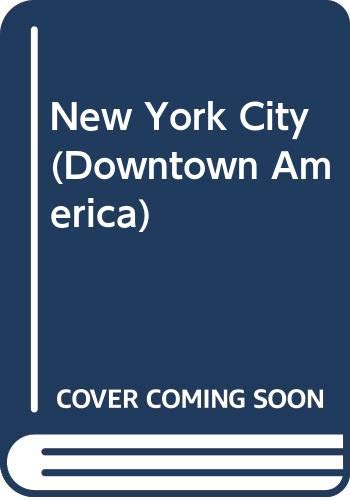 9780382247941: New York City (Downtown America)