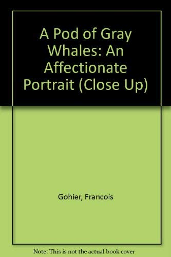 A POD OF GRAY WHALES An Affectionate: Gohier, Francois