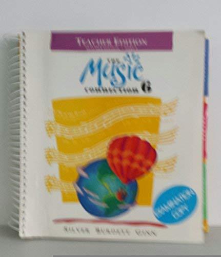 9780382261961: The Music Connection Book 6, Part 1, Teacher Edition