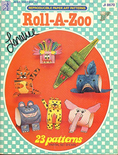 Roll a Zoo (Reproducible Paper Art Patterns)