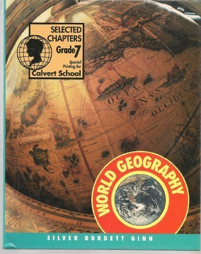 9780382324321: World Geography People in Time and Place Selected Chapters,GRADE 7 HC, 1995