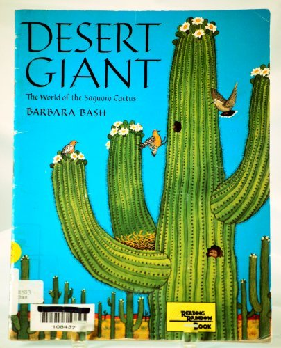 9780382336546: Desert Giant: The World of the Saguaro Cactus