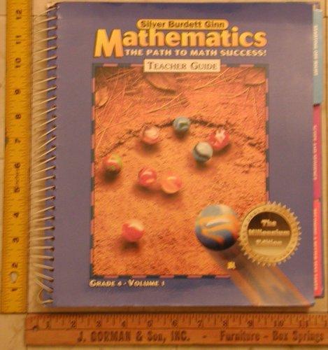 Silver Burdett Ginn Mathematics Path To Math Scuccess Teacher Guide Grade 4 Volume 1 Millenium ...