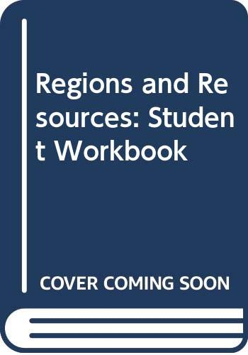9780382350054: Regions and Resources: Student Workbook