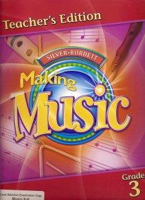 9780382365935: Silver Burdett Making Music, Grade 3, Teacher's Edition,