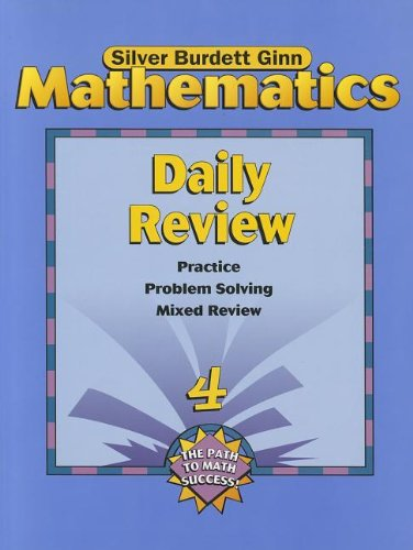 9780382373190: SBG MATH DAILY REVIEW PE GR 4