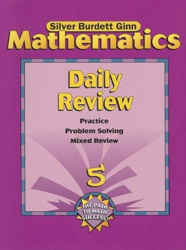 9780382373206: Mathematics: Daily Review - Grade 5 (Silver Burdett Ginn)