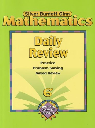 9780382373213: SBG MATH DAILY REVIEW PE GR 6